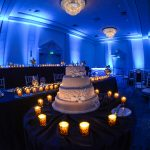 Beaches & Brilliantly Blue Event Lighting